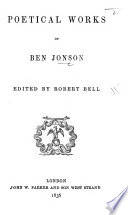 Poetical Works of Ben Jonson