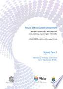 SAGA Science, Technology and Innovation Gender Objectives List