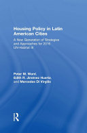 Housing Policy in Latin American Cities