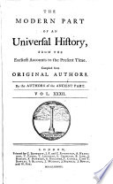 The modern part of An universal history, from the earliest accounts to the present time