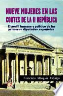 Nueve mujeres en las cortes de la II república
