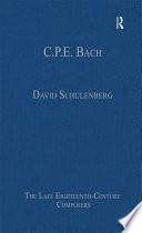 C P E  Bach Book