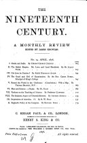 The Nineteenth Century and After0