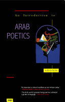 An Introduction to Arab Poeti
