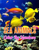 Sea Animals Color by Numbers
