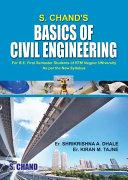 S  Chand s Basics of Civil Engineering  For B E  1st Semester of RTM University  Nagpur