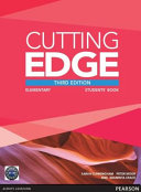 Cutting Edge 3rd Edition Elementary Students  Book and DVD Pack