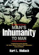 Man s Inhumanity To Man