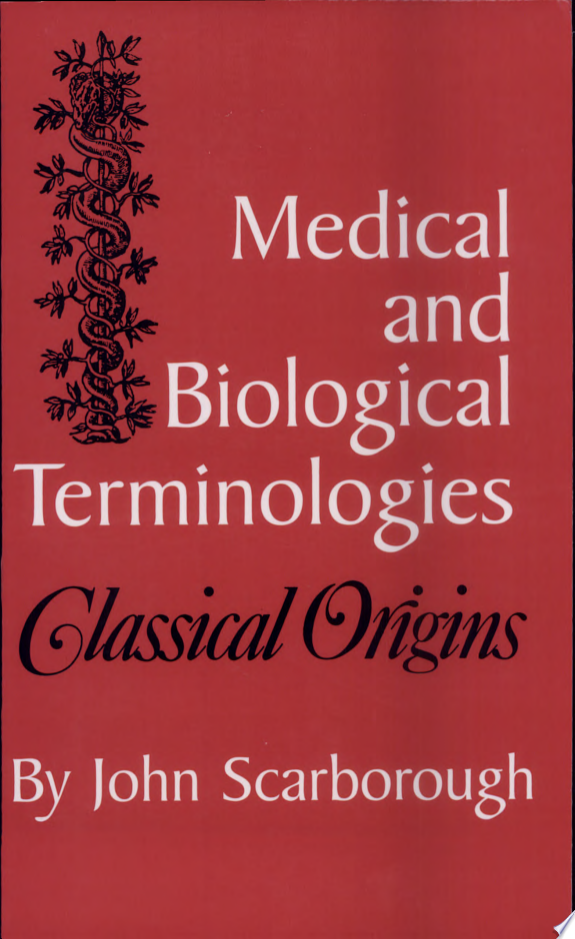 Medical and Biological Terminologies