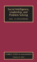 Social Intelligence, Leadership, and Problem Solving [Pdf/ePub] eBook