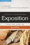 Exalting Jesus in Matthew