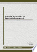Industrial Technologies for Sustainable Development Book