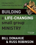 Pdf Building a Life-Changing Small Group Ministry Telecharger