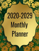 2020 2029 Monthly Planner
