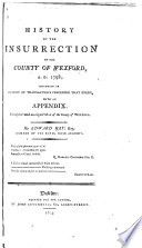 History Of The Insurrection Of The County Of Wexford A D 1798