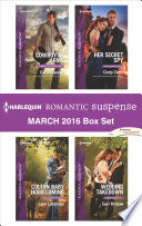 Harlequin Romantic Suspense March 2016 Box Set Book