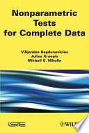 Nonparametric Tests for Complete Data Book