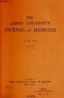 The Nihon University Journal Of Medicine Book PDF