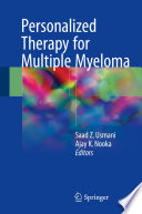 Personalized Therapy for Multiple Myeloma