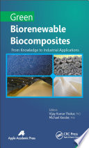 Green Biorenewable Biocomposites Book PDF