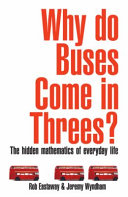 Why Do Buses Come In Threes  Book