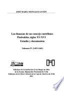 Las finanzas de un concejo castellano