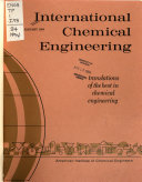 International Chemical Engineering