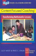 Content-focused Coaching