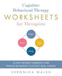Cognitive Behavioral Therapy Worksheets for Therapists