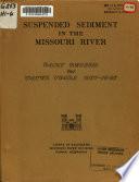 Suspended Sediment in the Missouri River Book
