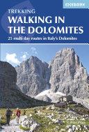 Walking in the Dolomites