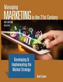 Managing Marketing In The 21st Century