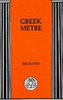 Raven, Greek Metre cover