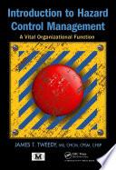 Introduction to Hazard Control Management