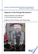 Aspects of the Orange Revolution I