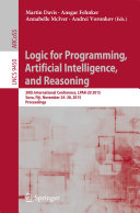 Logic for Programming, Artificial Intelligence, and Reasoning