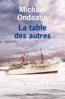La table des autres