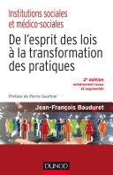 Pdf Institutions sociales et médico-sociales-2e éd. Telecharger