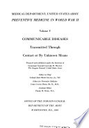 The Medical Department of the United States Army in World War II  Book PDF