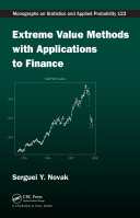 Extreme Value Methods with Applications to Finance ebook