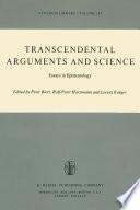 Transcendental Arguments and Science Book