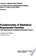 Fundamentals of Statistical Exponential Families