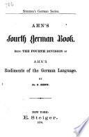 Ahn's Fourth German Book