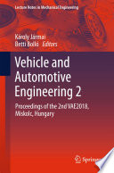 Vehicle and Automotive Engineering 2