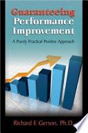 Guaranteeing Performance Improvement Book PDF