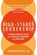High-Stakes Leadership