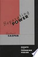 Separating Power Book