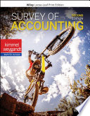 """Survey of Accounting"" by Paul D. Kimmel, Jerry J. Weygandt"
