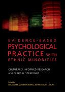 Evidence based Psychological Practice with Ethnic Minorities