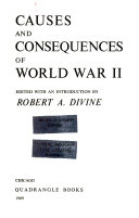 Causes and Consequences of World War II Book PDF